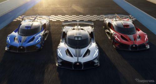 ブガッティの1850馬力『ボリード』、市販化が決定…世界限定40台で価格は400万ユーロ