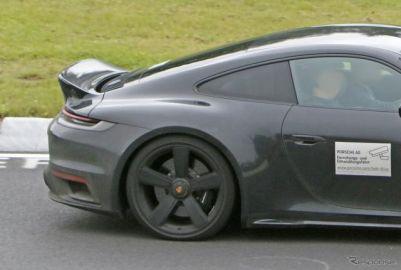 ポルシェ 911にレトロな美学を…新型「スポーツクラシック」は3L直6ツインターボ搭載か