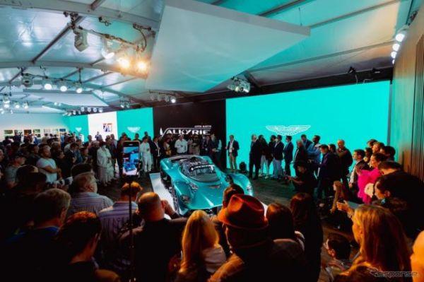 アストンマーティン『ヴァルキリー』、1155馬力ハイパーカーに「スパイダー」…ペブルビーチ2021で発表