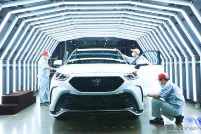 トヨタ クラウン ブランドのSUV、生産開始…中国合弁工場で