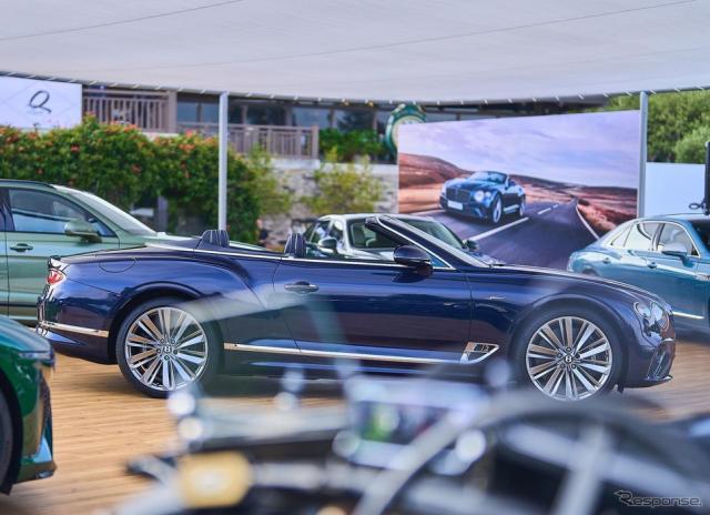 ベントレー・コンチネンタル GT スピード・コンバーチブル 新型(モントレー・カーウィーク2021)《photo by Bentley》
