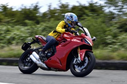 【ドゥカティ スーパースポーツ950S 試乗】購入したいバイク候補になっちゃいました…小鳥遊レイラ