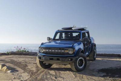 フォード ブロンコ 新型をカスタム、ドアとルーフを取り外し…米国西海岸の楽しさを表現