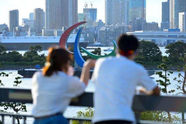 パラリンピック開催を控える東京(8月22日)《Photo by Koki Nagahama/Getty Images for International Paralympic Committee/Getty Images Sport/ゲッティイメージズ》