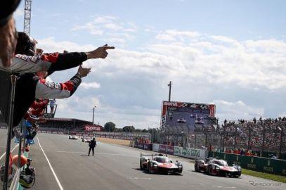 【ルマン24時間】初制覇の可夢偉、「チームが正しい判断で導いてくれた」…決してラクではなかったトヨタV4