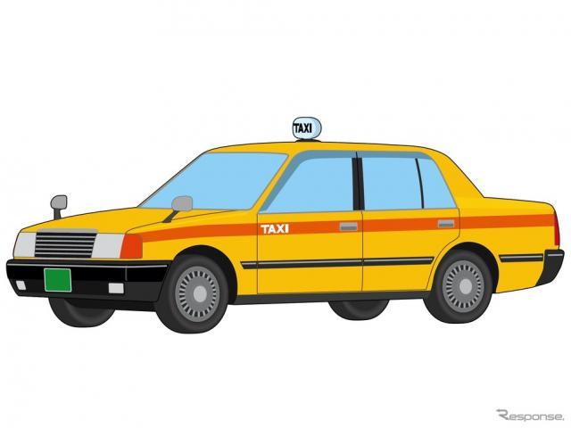 タクシー(イメージ)《画像提供 イラストAC》
