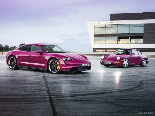 ポルシェ・タイカン の2022年モデル《photo by Porsche》