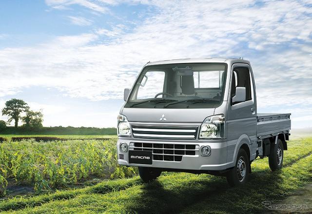 三菱 ミニキャブ トラック《写真提供 三菱自動車》