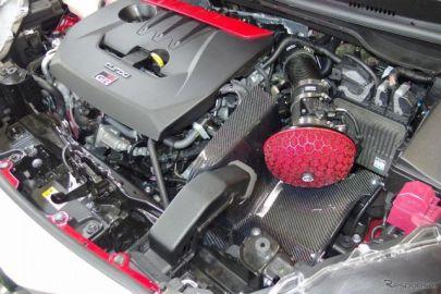 GRヤリス 用カーボンレーシングサクションキット、HKSが発売…吸気抵抗低減でパワーアップ