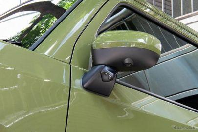 タフト専用サイドカメラキット発売、左折や縦列駐車の安全を確認 データシステム