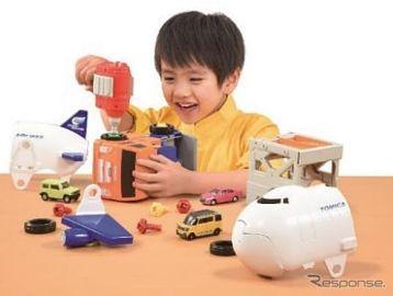 「トミカDIY」登場、電動ドライバー付属で組み立て・組み替え・分解が楽しめる