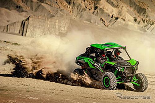 オフロード四輪車(イメージ)《写真提供 川崎重工》