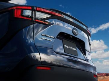 スバルの新型SUV『ソルテラ』、新写真…2022年発売予定のEV