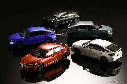 ホンダ シビック 新型、ミニカーが早くも登場…価格は6380円
