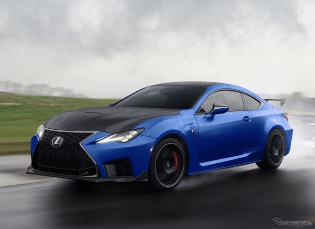レクサス RC F の「富士スピードウェイエディション」の2022年モデル(米国仕様)《photo by Lexus》