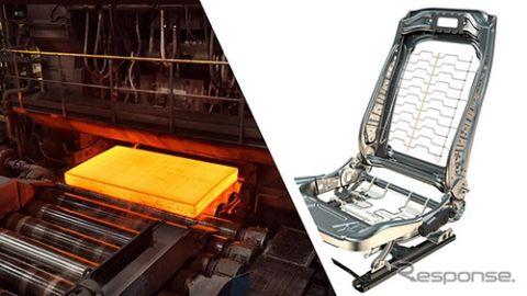 フォルシア、化石燃料を使わない高強度の鉄鋼を導入、CO2削減に貢献
