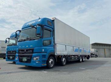 三菱ふそう、大型トラック・スーパーグレートに軽量で積載量の多い新モデル