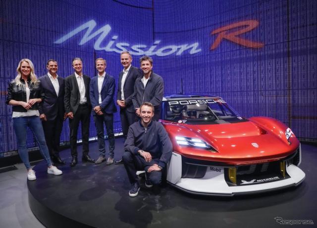ポルシェ・ミッションR(IAAモビリティ2021)《photo by Porsche》