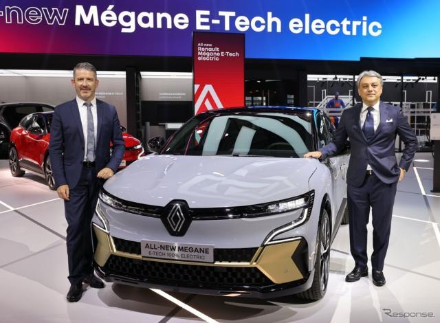 ルノー・メガーヌ E-TECH エレクトリック(IAAモビリティ2021)《photo by Renault》