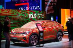 VWがEV初のSUVクーペを提案