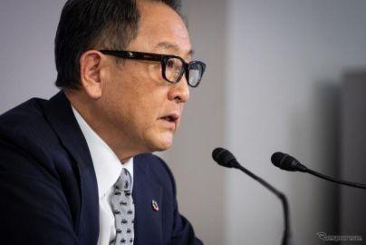 自工会 豊田会長「私にもギャラを」…会長続投報道は「決まっていない」