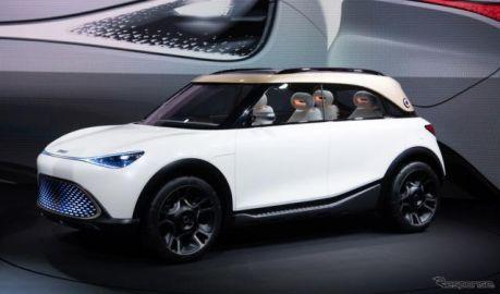 スマート初の電動SUV、ドイツでコンセプトカー公開