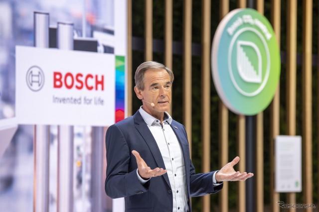ボッシュのプレスカンファレンス(IAAモビリティ2021)《photo by Bosch》