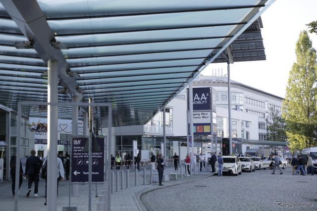 ミュンヘン・メッセに開催都市を移した「IAA」《写真撮影 南陽一浩》
