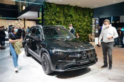 メルセデスベンツ、小型電動SUV「EQB」を年内に欧州で発売