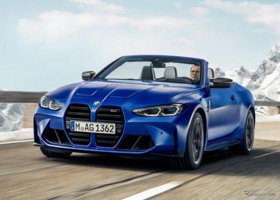 BMW、510馬力のオープンカー「M4 カブリオレ」発売
