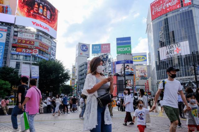 東京・渋谷(7月)《Photo by James Matsumoto/SOPA Images/LightRocket via Getty Images/ゲッティイメージズ》