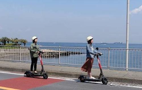 電動キックボードのイメージ《写真提供 京浜急行電鉄》