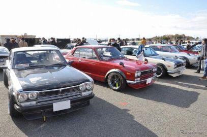 名車や希少車が大阪に大集合、「昭和レトロカー万博」11月21日開催