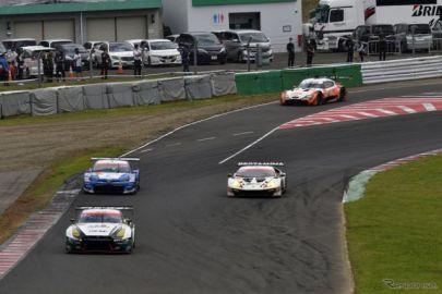 スポーツランド菅生、コース改修後初のSUPER GTレース