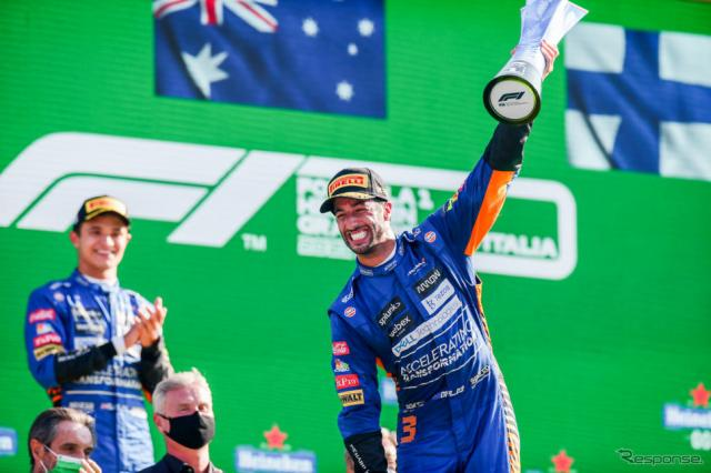 F1イタリアGP《Photo by Peter Fox/Getty Images Sport/ゲッティイメージズ》