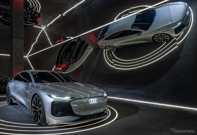 アウディ A6 e-tron コンセプト(ミラノデザインウィーク2021)《photo by Audi》