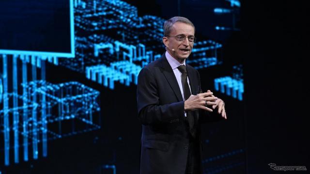 インテルのパット・ゲルシンガーCEO(IAAモビリティ2021)《photo by Intel》