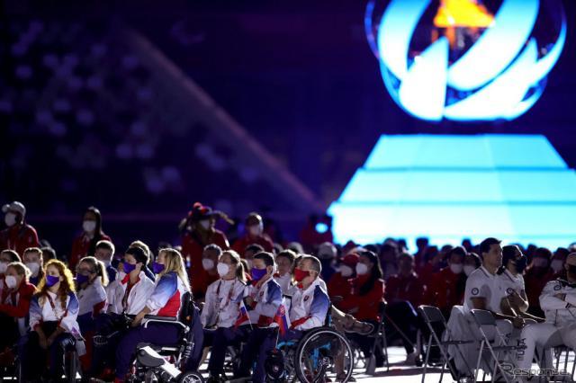 東京2020パラリンピック閉会式(9月5日)《Photo by Carmen Mandato/Getty Images Sport/ゲッティイメージズ》