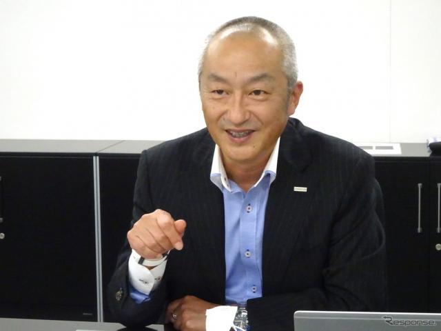 シェフラージャパン 田中昌一代表取締役 マネージング・ディレクター《写真撮影 レスポンス編集部》