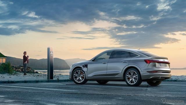 燃費改善では足りない、排出ゼロを早急な実現が求められる《写真提供 アウディ》