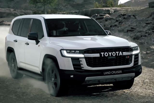 2021年:ランドクルーザー300系(ステーションワゴン)=新型《画像提供 トヨタ自動車》