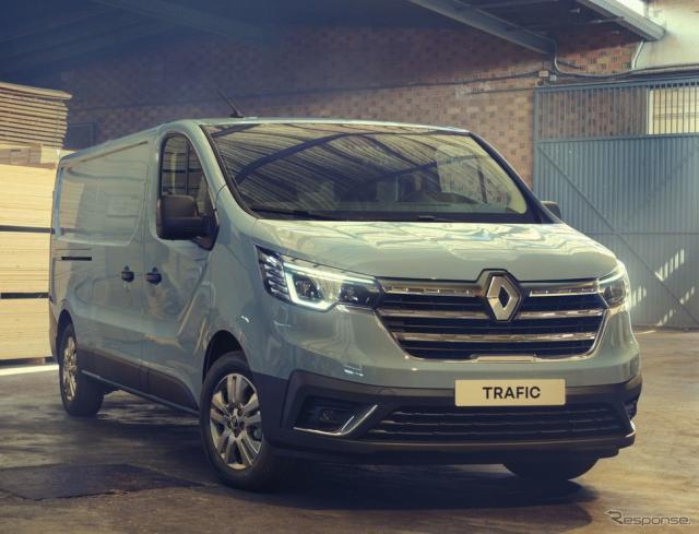 ルノー・トラフィック 改良新型《photo by Renault》