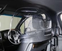 車内飛沫防止パーティションを開発…タクシー向けに先行販売