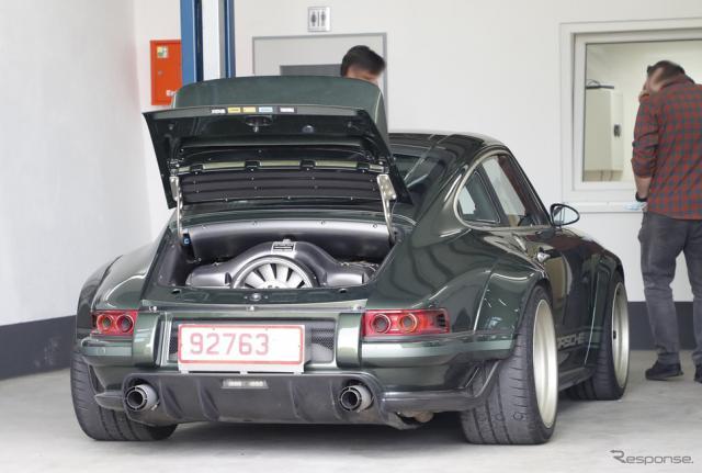 シンガー ポルシェ 911 DLS(スクープ写真)《APOLLO NEWS SERVICE》