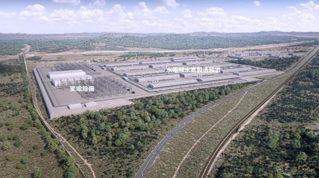 水素製造拠点 アルドガ地区の土地イメージ《写真提供 岩谷産業/川崎重工/関西電力/丸紅》