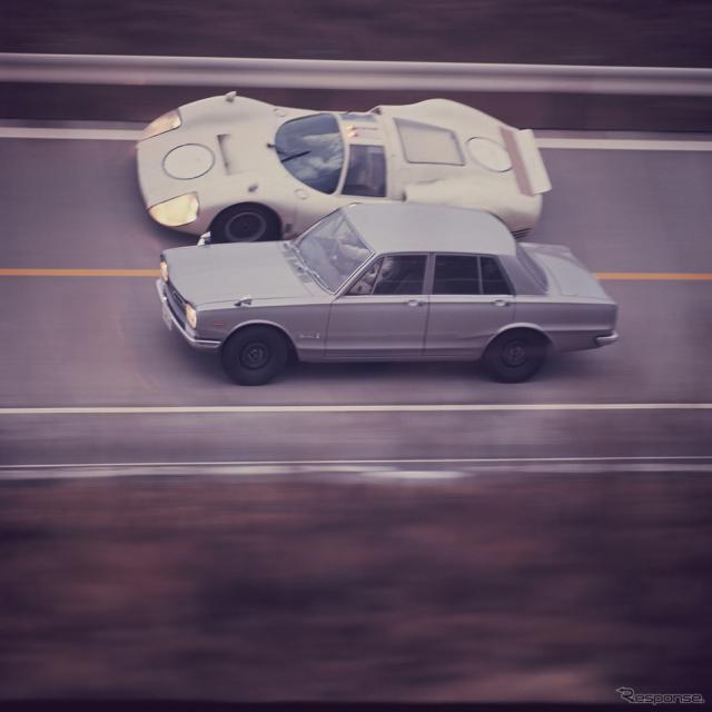 プリンス・スカイラインGT-RとR380《写真提供 日産自動車》