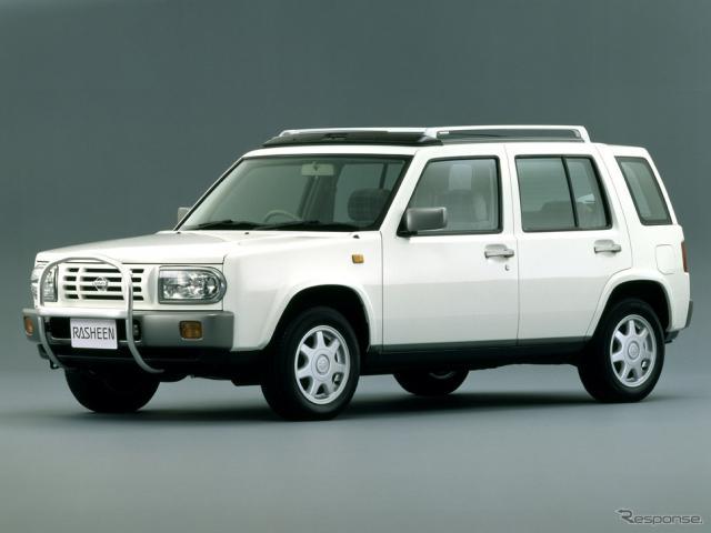 日産ラシーン(1994年)《写真提供 日産自動車》
