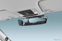 カーメイト、新型ヴェゼル専用の自動防眩ルームミラー対応ワイドミラー発売