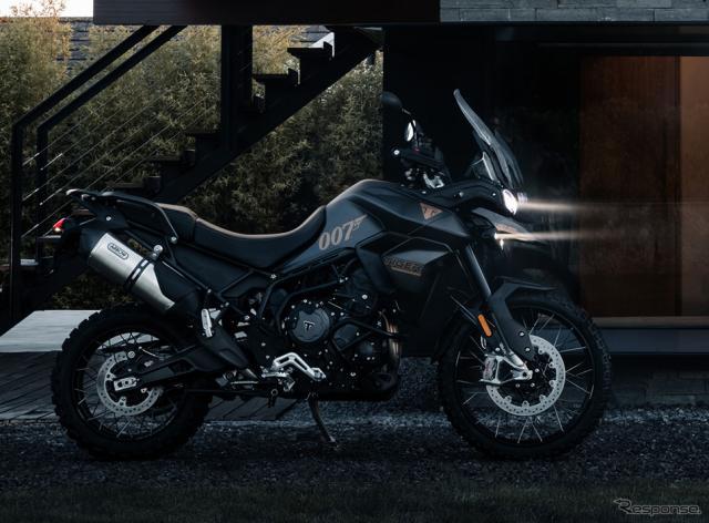 トライアンフ タイガー900 ボンドエディション《写真提供 トライアンフ モーターサイクルズ ジャパン》