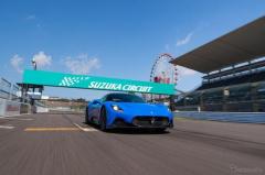 マセラティの新型スーパーカー「MC20」が日本上陸、鈴鹿で走りを披露
